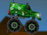 Militär monstertruck