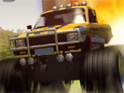 Monster Truck framfart