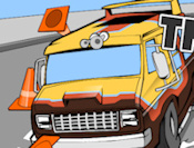 Bus Racer Icon