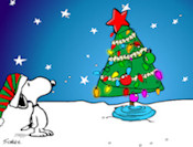 Charlie Brown Xmas pohon