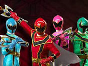 Power Rangers formation