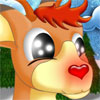 Red Nose Rudolph Icon